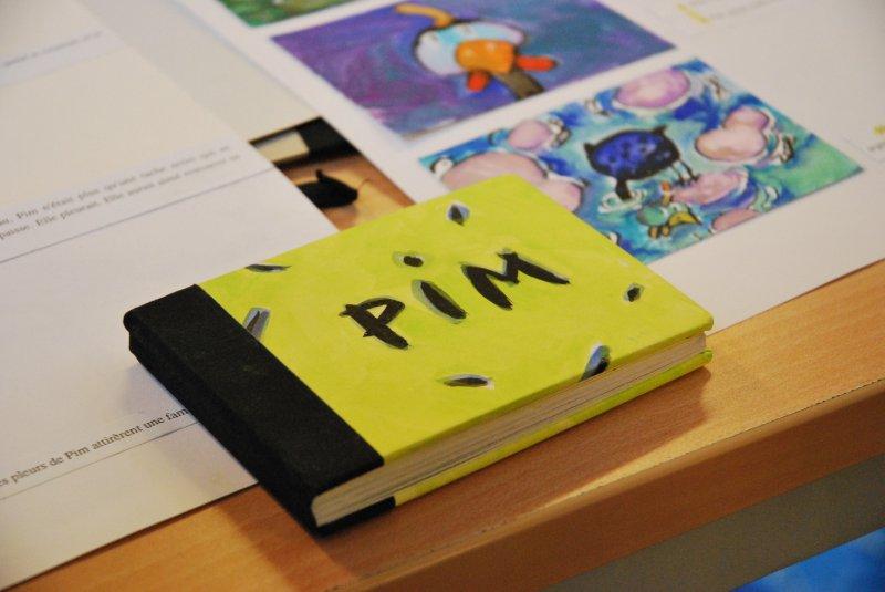 Vernissage de Pim la pintade