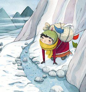 Djoudu, le petit yak perdu